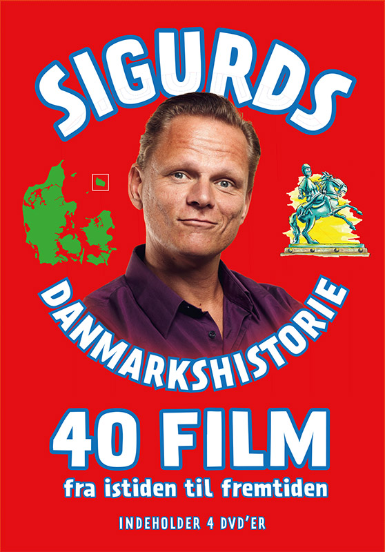Sigurds Danmarkshistorie – 40 film (4-DVD)