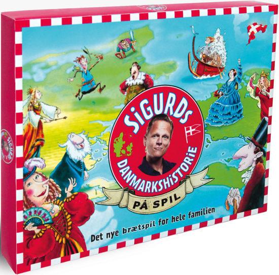 Sigurds Danmarkshistorie på brætspil