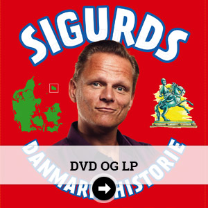 DVD og LP i Sigurds Butik