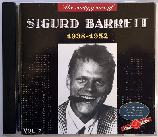 Sigurd Barrett - early years