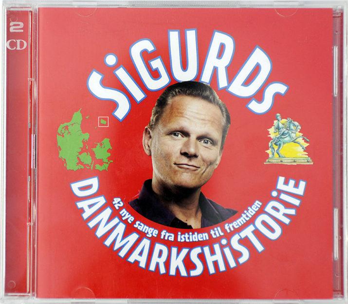 Sigurds Danmarkshistorie, dobbeltcd