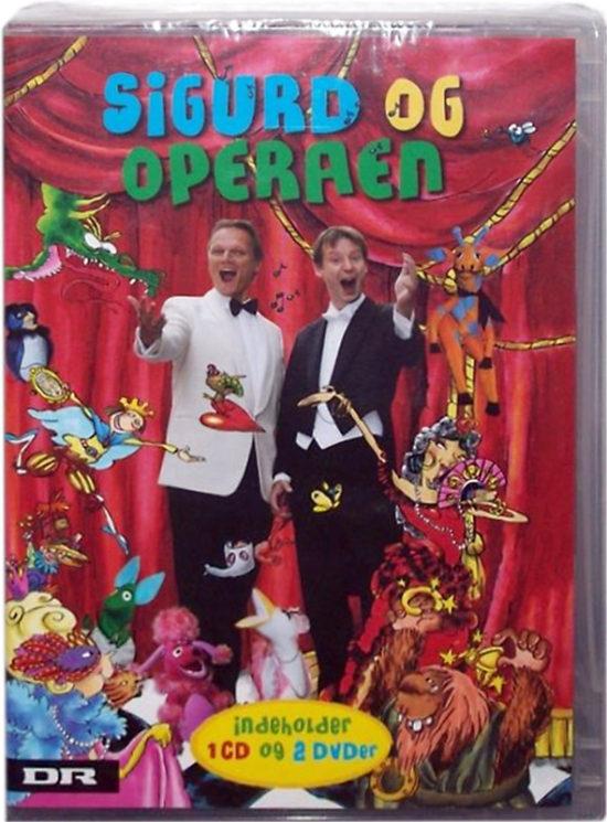 Sigurd og operaen - cd og dvd