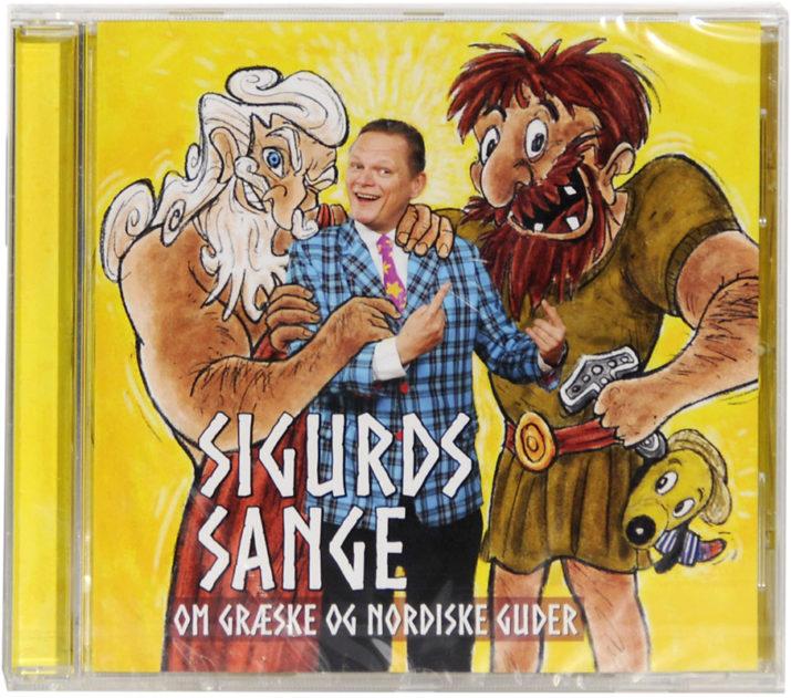 Sigurds sange om de græske og nordiske guder