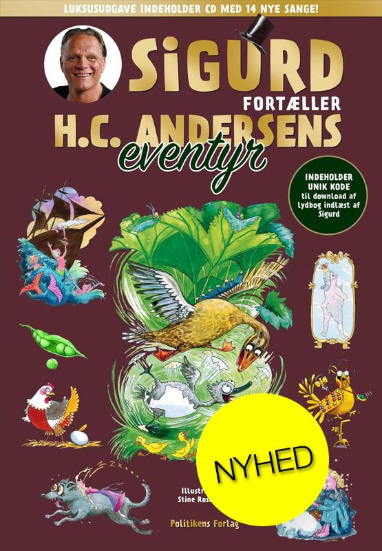 Sigurd fortæller H.C. Andersens eventyr LUKSUSUDGAVE