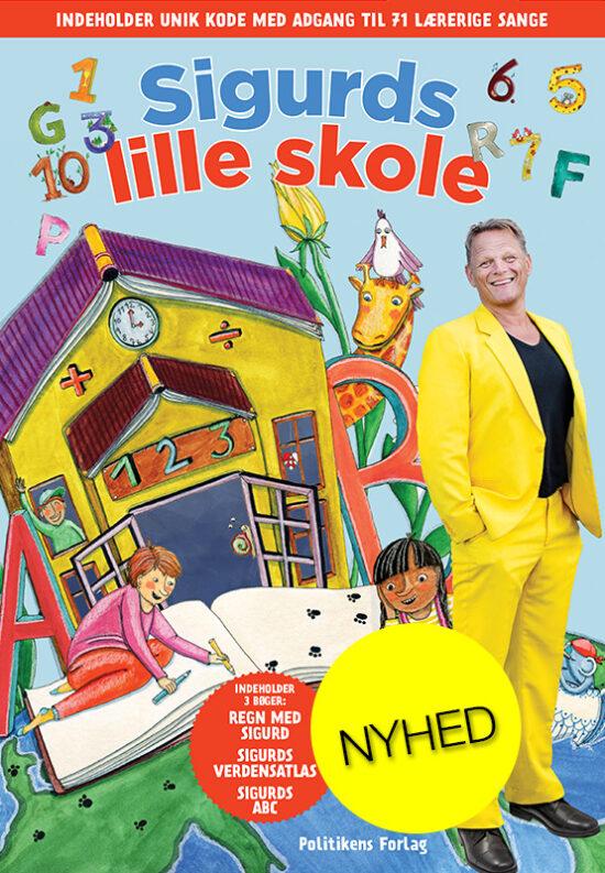 Sigurds lille skole - box med tre bøger