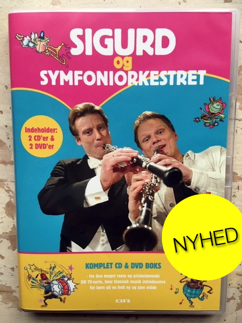 Sigurd og symfoniorkestret cd og dvd