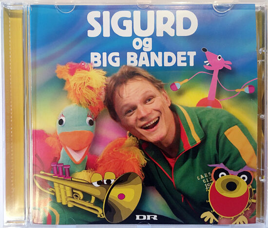 Sigurd og big bandet (CD)